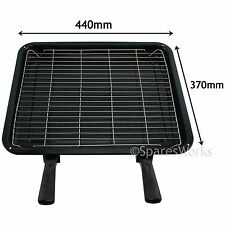 XL Enamel Grill Tray & Rack for DIPLOMAT HYGENA Oven 370 x 440mm
