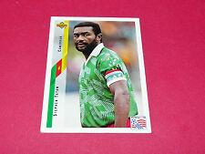 STEVEN TATAW CAMEROUN FIFA WC FOOTBALL CARD UPPER USA 94 PANINI 1994 WM94