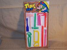 Vintage Carded Plastic Tool Toy Set