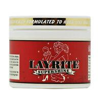 Layrite Supershine Cream Water-Based Medium Hold High Shine 4.0 oz
