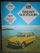 Citroën AMI 8 : revue technique EA 53