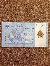 (JC) RM1 12th Series Signed Zeti Replacement Note ZD 0006104 - VF