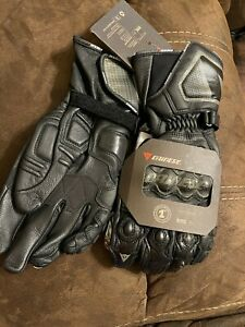 Dainese Carbon Cover ST Mens Leather Gloves Black Size XXL