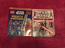 Ultimate Sticker Collection: Star Wars: The Clone Wars: & LEGO Mighty Minifigure