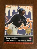 2000 World Series Topps Baseball Base Card #13 - Darryl Hamilton - New York Mets