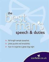 The Best Man's Speech and Duties (Confetti), confetti.co.uk | Paperback Book | G