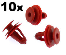 10x Toyota Plastic Trim Clips for Door Cards, Panels, Trims and Fascias
