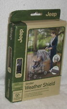 JEEP STROLLER WEATHER SHIELDS GREAT QUALITY ITEM