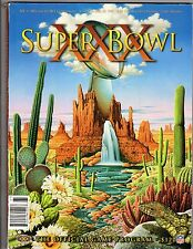 1996 Super Bowl XXX  Football Program, Dallas Cowboys vs. Pittsburgh Steelers~VG