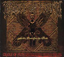 CRADLE OF FILTH live bait for the dead 2CD 2002 slipcase enhanced video & extras