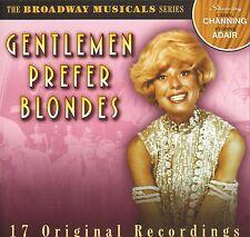 The Broadway Musicals Series  - Genlemen Prefer Blondes  CD !!! NEU !!!
