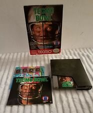 TECMO BOWL NES NINTENDO GAME COMPLETE IN BOX CIB NEAR MINT WITH INSERTS