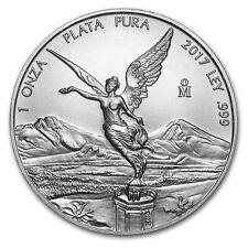2017 Mexican Libertad 1 oz .999 Silver BU Round Very Limited Bullion AG-47 Coin