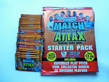 MATCH ATTAX Premier League 09/10 Starter Mappe  + 50 Booster - 300 Karten Cards