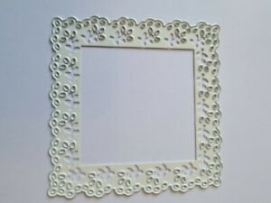 Pretty Square Frame Die Cutter  Lightly Used