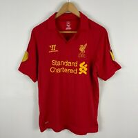 Liverpool FC Warrior Football Soccer Jersey Mens Medium Suarez #7