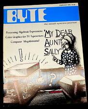 Rare Byte Magazine Feb 1976 Altair 680 Review SWTPC 6800   Ships Worldwide