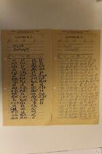 2 Soviet Chess Score Sheets Kotov-Liberzon. 1971
