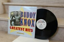 buddy knox - greatest hits (topline records) TOP 142 (année 1986)