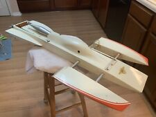 Vintage Water Spyder Os 7.5cc Nitro R/C Boat Outrigger Hydroplane