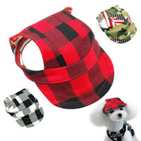 Hats for Dogs Small Pet Puppy Summer Sun Baseball Cap Visor Outdoor Accessory