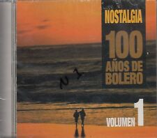 Agustin Lara Chelo Vidal Nostalgia 100 Anos De Bolero CD New Sealed