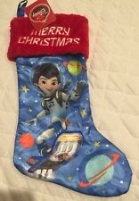 "Miles From Tomorrowland 20"" Stocking Disney Nwt Merry Christmas"