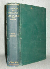 Antique Science Medical Book Nervous System Diseases Dana Fold-Out Illstrtd 1925