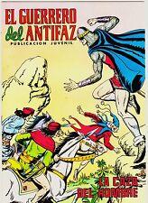 EL GUERRERO DEL ANTIFAZ (Reedición color) nº: 244.  Valenciana, 1972-1978.
