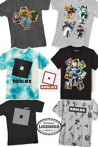 LICENSED Boy's ROBLOX GITD Warrior Character Print Short Sleeve Crew T-Shirt