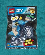 LEGO CITY: Policeman with Trail Bike Polybag Set 951808 BNSIP