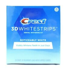 Crest Noticeably White Whitestrips, 10 Treatments, 20 Strips