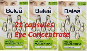 BALEA GREEN TEA Vit E PRIMROSE OIL Augen Konzentrat EYE CONCENTRATE  21cap