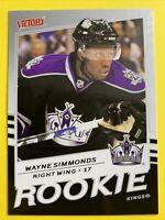 2008-09 Upper Deck Victory Rookie #346 Wayne Simmonds LA Kings RC  Toronto