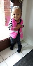 Baby Girl Infant Toddler Zebra Outfit 24 Months Zebra butterfly shirt pants