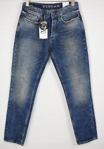 Denham Forge V Homme W29/L32 Coupe Standard Candiani Jeans Vieilli 8773