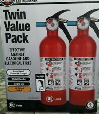 2-PACK KIDDE DRY CHEMICAL FIRE EXTINGUISHER HOME CAR AUTO GARAGE KITCHEN 5-B:C
