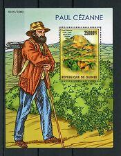 Guinea 2015 MNH Paul Cezanne IV S / S OLIO ARTE DIPINTI MONT saint-victoire