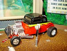 100% HOT WHEELS 1934 FORD 5 WINDOW COUPE LIMITED EDITION 1/64