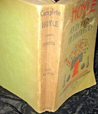 HOYLE, AN ENCYCLOPEDIA OF INDOOR GAMES, 1914-PB-INC ALL THE OUTDOOR GAMES