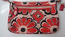Coach Poppy Floral Scarf Print crossbody bag MSRP. $138