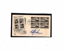 US AUTOGRAPHED BILLY GRAHAM EVANGELIST SCOTT#956, FOUR CHAPLAINS FIRST DAY COVER