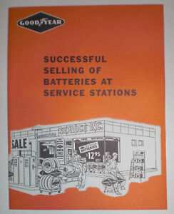 Goodyear Tire & Rubber Co. Successful Selling Of Batteries At Service Stations