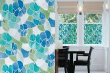 "d-c-fix Self-Adhesive Privacy Glass Window Film, Stained Blue/Green, 17.71""..."