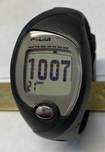 Polar Unisex FS3 Gray Digital Heart Rate Monitor Watch New Battery Great Cond