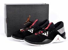 NIB Mens Sz 8.5 JORDAN FLIGHT FRESH PREMIUM AH6462 003 BLACK LIFESTYLE SHOE $120