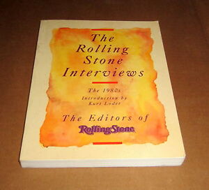 ROLLING STONE INTERVIEWS 1980's PSYCHEDELIC Dylan Bowie Clapton Kubrick Jagger