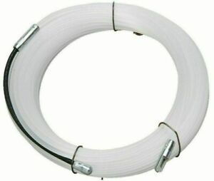 Nylon Einziehspirale Einziehhilfe Kabeleinziehdraht Einziehdraht 25 Meter E6-15