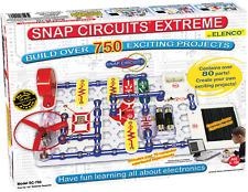 Snap Circuits Extreme SC-750 Electronics Exploration Kit | Over 750 STEM | | 80+