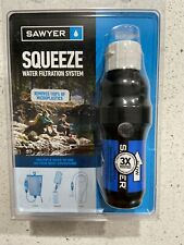 Sawyer SQUEEZE Water Filter Filtration System Blue SP136
